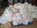 Distribution of aid
