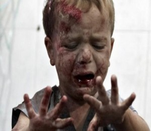 Mortar-FSA-Syria-kills-children